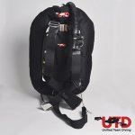UTD Adventurer Single Tank BCD System (37lbs/17kg Donut & SS)
